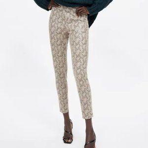 Zara Snake Print Leggings~XS